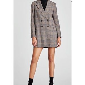 Zara Double Breasted Blazer [XS]